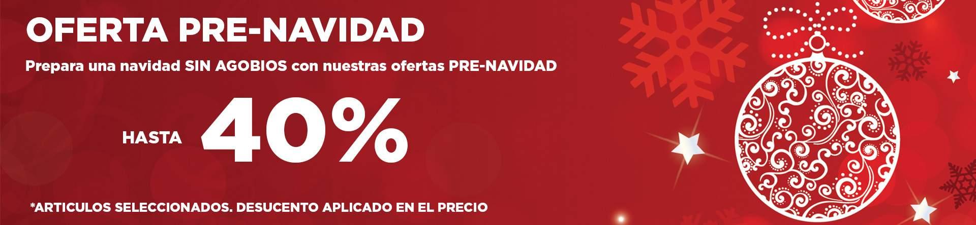 HASTA EL 40%
